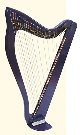 Kortier solid body electric harp