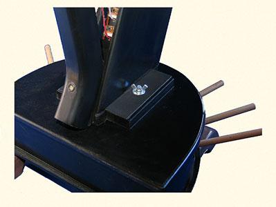 Virtual Pedal Harp MIDI controller