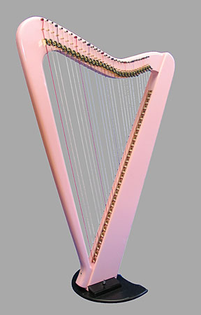 Electric Harp Pink 31 Strings