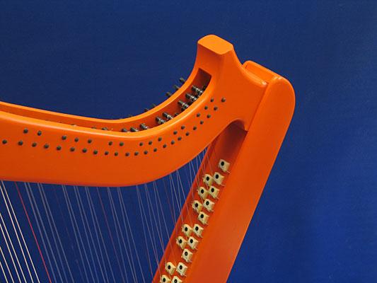 cross strung electric harps